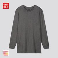UNIQLO 优衣库 418790 男装HEATTECH圆领T恤