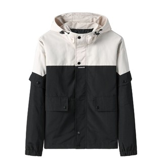 Lee Cooper  MD8BYBL6901 男士拼接夹克外套
