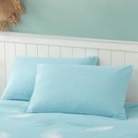 MERCURY 水星家纺 抗菌水洗棉对枕套