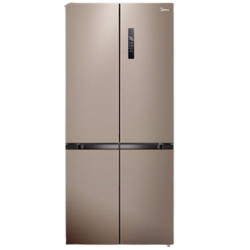 Midea 美的 BCD-495WSPZM(E) 十字对开门冰箱 495L