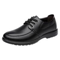MULINSEN 木林森 男士商务休闲皮鞋 SL67341 黑色 41