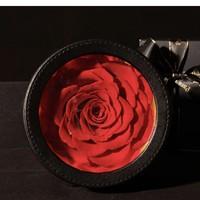 礼遇情人节、京东PLUS会员:Para Ella 单朵巨型红色永生花玫瑰花 彩灯款