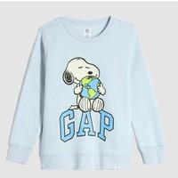 Gap 盖璞 儿童卡通抓绒卫衣