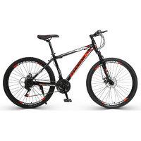 20日0点:PHOENIX 凤凰 24速 26寸 XJ 山地自行车