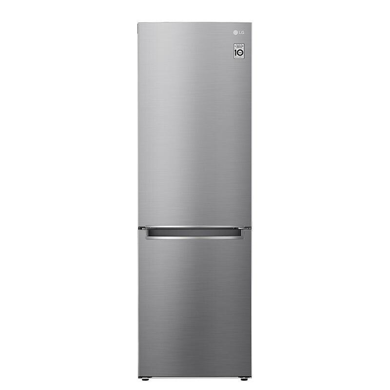 LG 乐金 鲜荟系列 M450S1 风冷双门冰箱 340L 银色