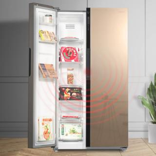 Panasonic 松下 NR-W58G1-XT 风冷对开门冰箱