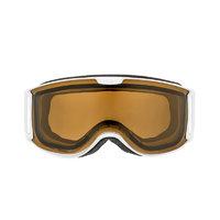 UVEX 优唯斯 skyper P 中性偏光滑雪镜 S5504441030 哑光白棕