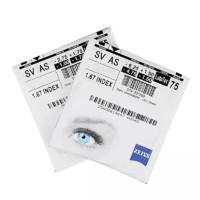 ZEISS 蔡司 1.74折射率 钻立方防蓝光膜镜片1片*2件