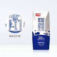 必买年货、88VIP:Bright 光明 优加纯牛奶 200mL*12盒 *6件