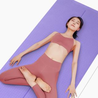 HATHA YOGA 哈他 瑜伽垫 6mm 藤紫