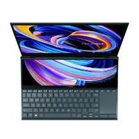 12期免息:ASUS 华硕 灵耀X双屏 14英寸笔记本电脑(i5-1135G7、16GB、512GB、Xe核显、双屏触控)
