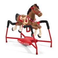Radio Flyer 381 兒童互動式可騎小馬