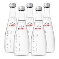 百亿补贴: Evian 依云 天然弱碱性矿泉水 玻璃瓶 330ml*5