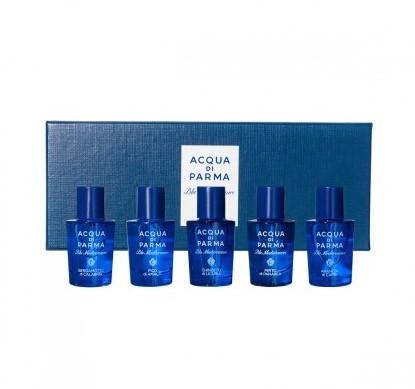 ACQUA DI PARMA 帕尔玛之水 帕玛尔之水 蓝色地中海 风情香水套装 5*5ml