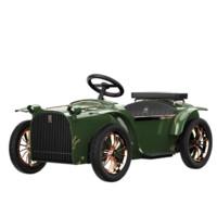 DT 帝仕伦 儿童电动车 卡其-绿色