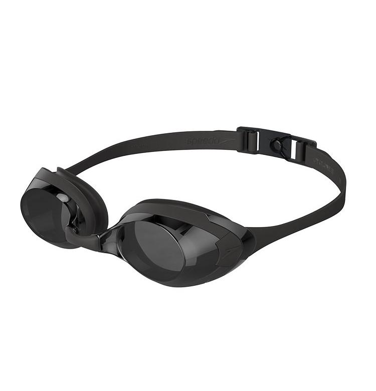 SPEEDO 速比涛 飞鱼系列 泳镜 8122727649 黑色/灰色