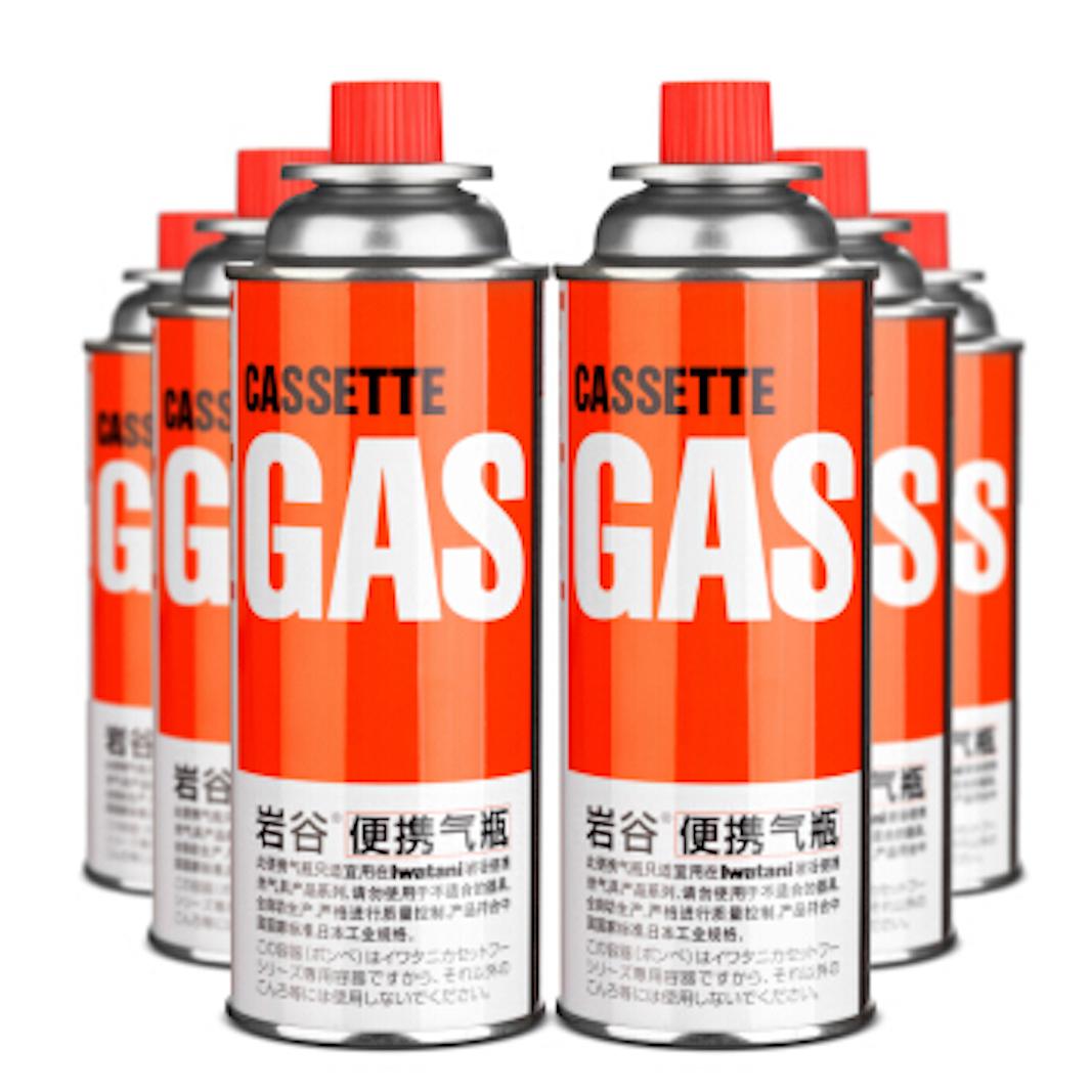Iwatani 岩谷 丁烷便携气瓶 250g 7罐装