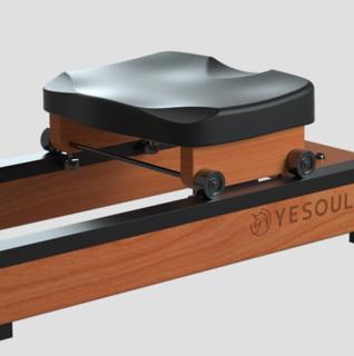 YESOUL 野小兽 R30 划船机 进口橡胶木 折叠款