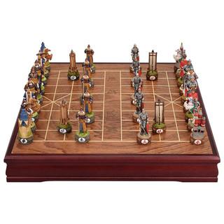 御圣 中国象棋+收纳版象棋盘 TX-73760 褐色
