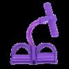 DHS 红双喜 脚蹬拉力器 紫色