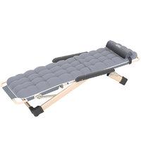 Nan ji ren 南极人 便携折叠躺椅 灰色 加厚蜂窝棉垫款