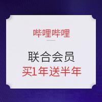 促销活动:哔哩哔哩大会员+QQ音乐豪华绿钻联合会员