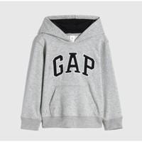 Gap 盖璞 男童LOGO运动套头卫衣