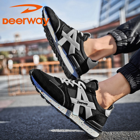 Deerway 德尔惠 T71614513 男款运动跑步鞋