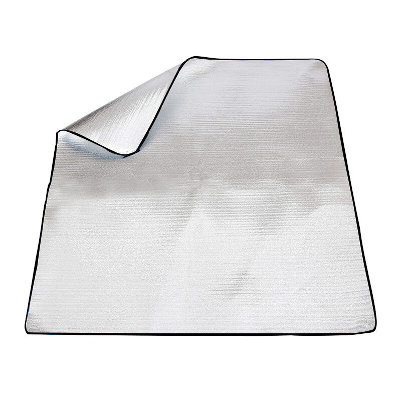 捷昇 户外双面铝膜加厚野餐垫 银色
