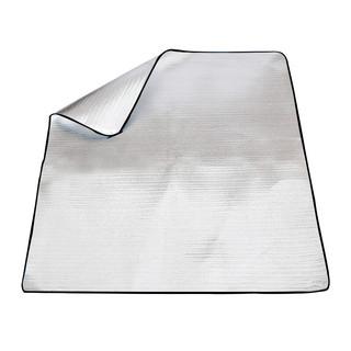 捷昇 (JIESHENG) 防潮垫 防水防潮帐篷垫子 户外加厚野餐垫 双面铝膜爬行垫子 200CMX200CM