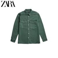 ZARA  07446400501 男装牛仔衬衫式夹克外套