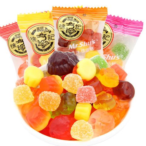 百亿补贴:徐福记 果汁橡皮软糖 1kg