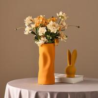 Hoatai Ceramic 华达泰陶瓷 莫兰迪波纹花瓶