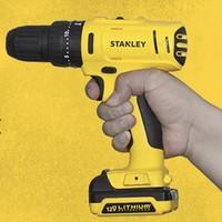STANLEY 史丹利 SCH121SK-A9 12v锂电钻冲击钻