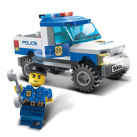 GUDI 古迪 9306 城市警察系列 警察皮卡 *2件