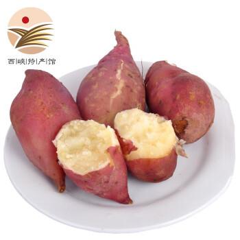 静益乐源 商薯白心板栗红薯 中大果 5斤装 *2件