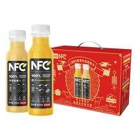88VIP、限地区:NONGFU SPRING 农夫山泉 NFC果汁 300ml*12瓶(橙汁+苹果香蕉汁) *4件