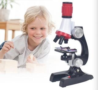 宜宝乐 儿童科学实验显微镜套装 1200倍 高配版