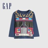 Gap 盖璞 男幼童长袖T恤