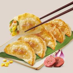 饭爷生活  玉米蔬菜猪肉煎饺 240g