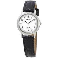 Seiko 女士太阳能手表Watch SUP369P1