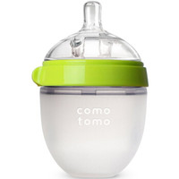 京东PLUS会员:comotomo 可么多么 宽口径硅胶奶瓶150ml 绿色 *3件