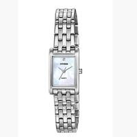 CITIZEN 西鐵城 EJ6121-51D 女士不銹鋼珍珠貝母手表