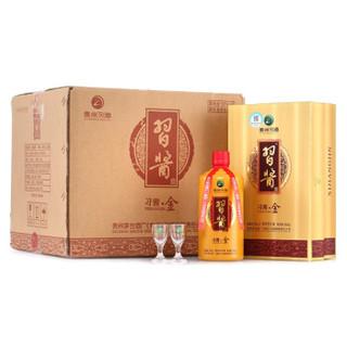 XIJIU 习酒 习酱·金 酱香型白酒 53度 500ml*6瓶