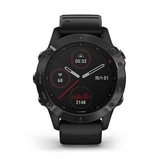 佳明GARMIN Fenix6 Pro/Fenix6户外运动血氧检测心率跑步越野GPS导航音乐腕表
