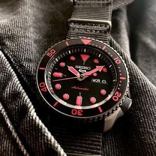SEIKO 精工 5号系列 SRPD83K1 男士自动机械手表