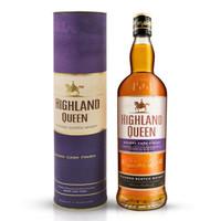 京东PLUS会员:HIGHLAND QUEEN 高地女王 苏格兰调配型威士忌 雪莉桶 700ml *3件