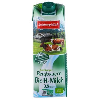 必买年货、88VIP、移动专享:SalzburgMilch 萨尔茨堡 全脂有机纯牛奶 1L *10件