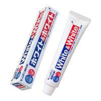 京东PLUS会员:LION 狮王 WHITE&WHITE洁白牙膏 150g *4件