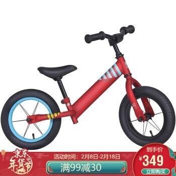 gb好孩子 儿童自行车 男女款 小孩滑行车 滑步车 溜溜车 平衡车 炽红 PH2007-3502